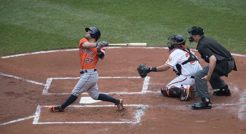 Jose Altuve Batting